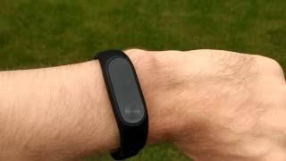 MiBand 2 - перевірка часу (на вулиці)