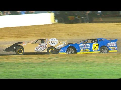 The Pro Stock Feature at Stateline Speedway (Busti, NY) on Saturday, July 27th, 2019! Results: Stateline Speedway: http://newstatelinespeedway.com/ - dirt track racing video image