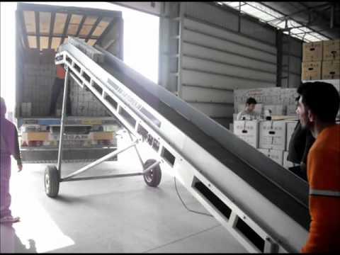 Akyurek Technology - Inclined Loading Conveyor Belt
