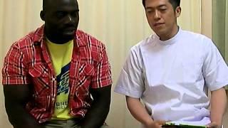 神戸市垂水区にある天竺整骨院に、ボビー・オロゴンさんが来院しました ...