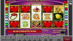 Jackpot Win On The Free Spin Games - Queen Of Hearts Slot