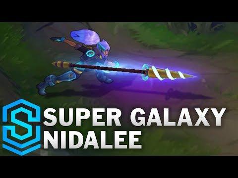 Super Galaxy Nidalee Skin Spotlight - Pre-Release - League of Legends