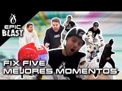 FIXFIVE: su ROTURA de HOMBRO y MEJORES MOMENTOS | Epic Blast