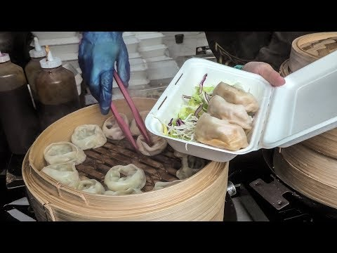 Korean Deep Fried Meat and Soft Dumplings tasted in London.