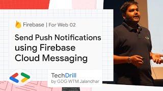 5. Send Push Notifications using Firebase Cloud Messaging   Firebase for Web 02   TechDrill screenshot 2