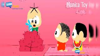 Monica Toy Cartoon   Silly faces and Sneeze   Monica Toy full episodes   Monica Toy New Episodes 01