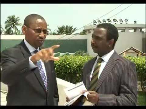 John Rwangobombwa, Finance Minister of Rwanda.