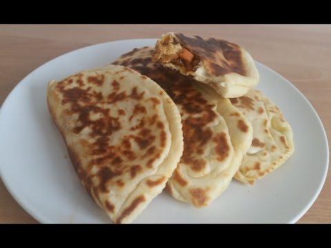 crêpes-turque---gozlem---turkish-pancakes-gozleme-recipe-/-mina-chett