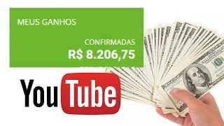 Como Ganhar Dinheiro no Youtube 2017 Mesmo Com canal Pequeno: 3.650 até 8.758,32 R$ Por Mês