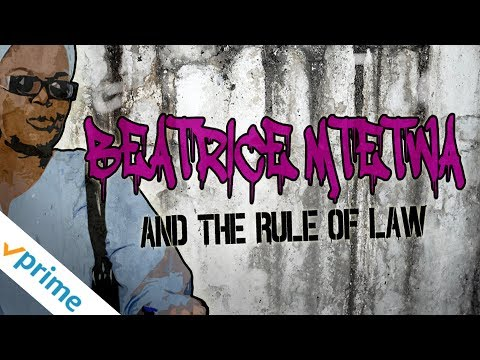 Beatrice Mtetwa And The Rule Of Law - Trailer