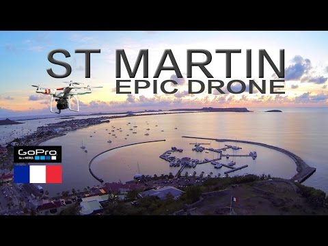 ST MARTIN ~ EPIC GoPro DRONE Aerials ~ WeBeYachting.com