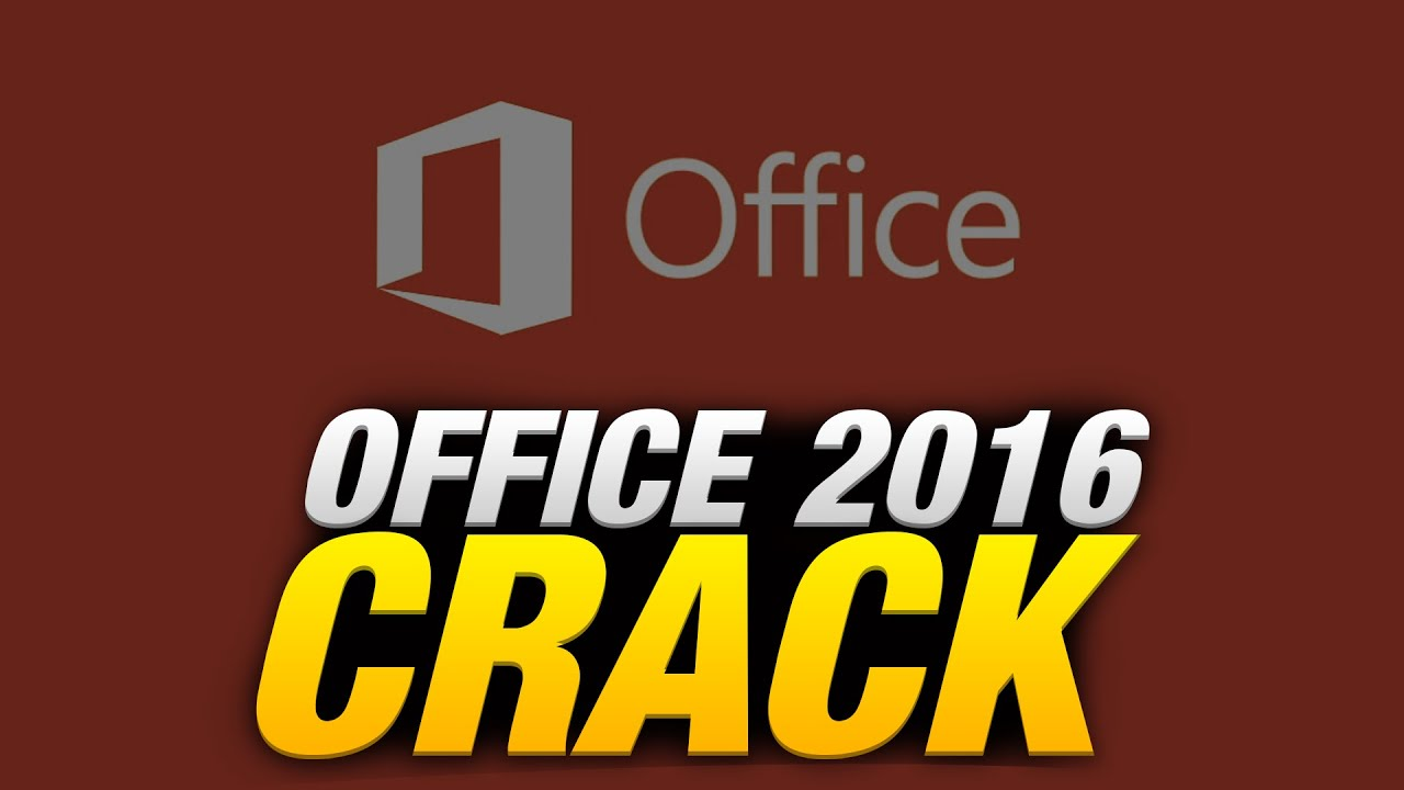 office 2016 and crack