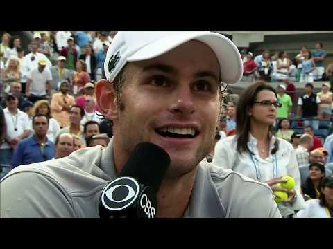 Andy Roddick ● The Funniest Guy Behind a Microphone