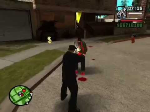 Gta San Andreas Cj Vs Ryder Y Alien