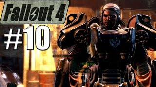 Let's Play FALLOUT 4 - Episode 10 - Fire Support Quest