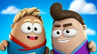 Пузыри Баблс: улётные приключения - Прыжки (Серия 1) | Прикольный мультик для детей
