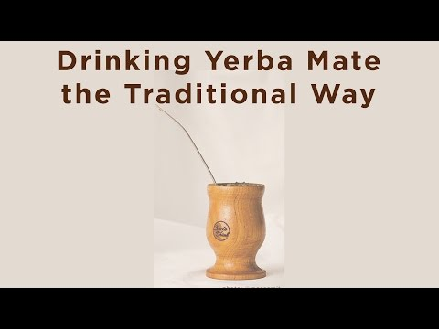 Online Mate Circle: Drinking Yerba Mate the Traditional Way
