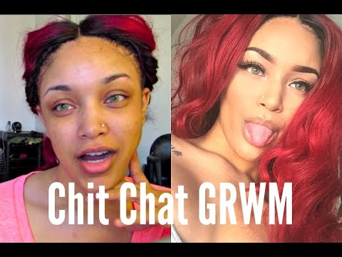 Chit Chat GRWM: BAD color correcting, F* usps, BGC + simple ootd