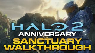 "Halo 2 Anniversary - ""Shrine"" Sanctuary Remastered Walkthrough/Interview"