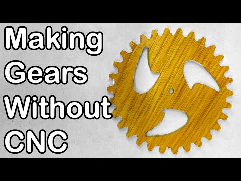 How I Design And Cut My Gears; Plus How I Make My Wooden Clocks: 045