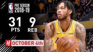 Brandon Ingram Full Highlights Lakers vs Kings 2018.10.04 - 31 Pts, 9 Reb, CLUTCH!