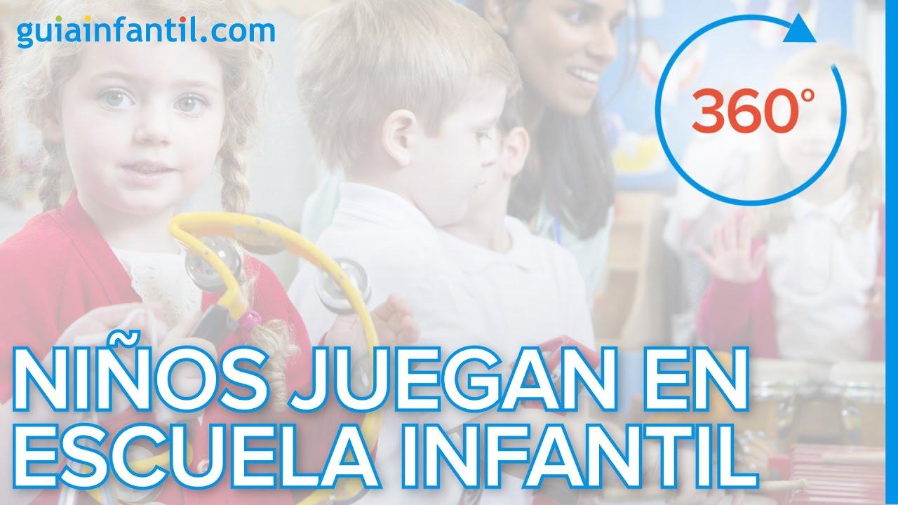 A qué juegan los bebés en una Escuela Infantil | VR (360 Video)