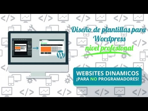 Como crear temas para wordpress desde cero - YouTube