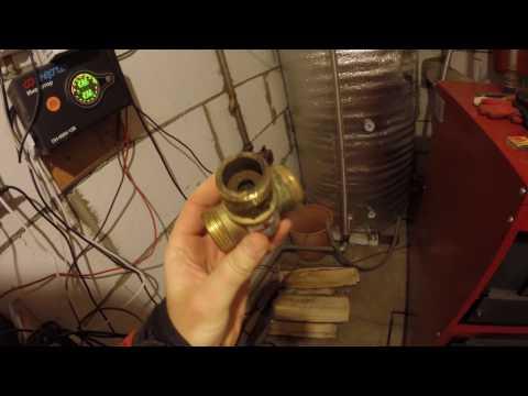 Буржуй-К без ДЕГТЯ и КОНДЕНСАТА / Твердотопливный котел с теплоаккумулятором