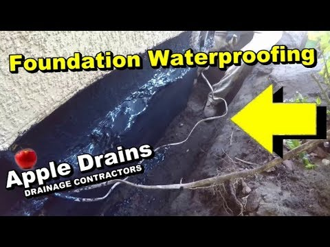 Exterior Waterproofing and Foundation Sealing
