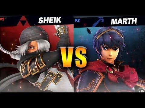 Sheik vs Marth
