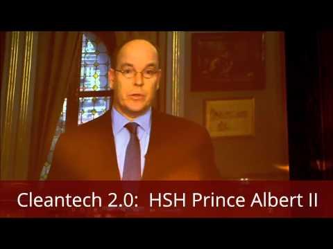 Cleantech 2.0 HSH Prince Albert II of Monaco