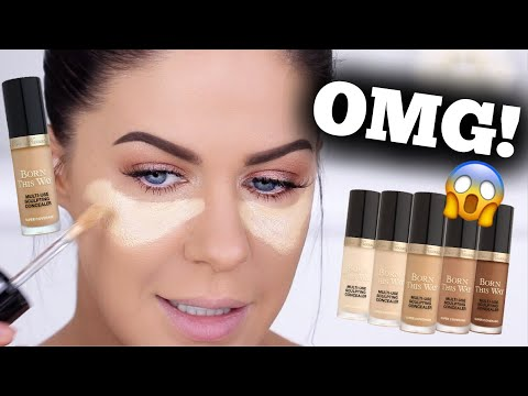 *NEW* TOO FACED SUPER COVERAGE CONCEALER!!? BETTER THAN TARTE SHAPE TAPE???