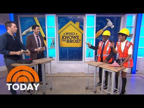 'Property Brothers' Reveal How Their Mom Tells Them Apart | TODAY