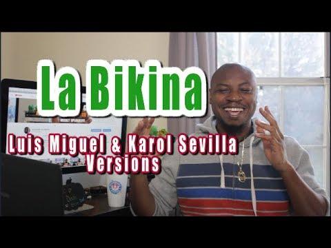 La Bikina REACTION | Luis Miguel Karol Sevilla | Listening Party