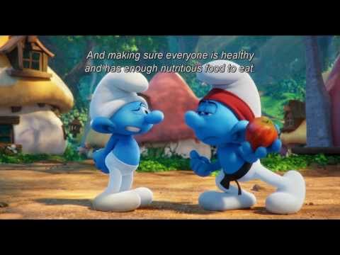 De Smurfen zetten zich in voor International Day of Happiness