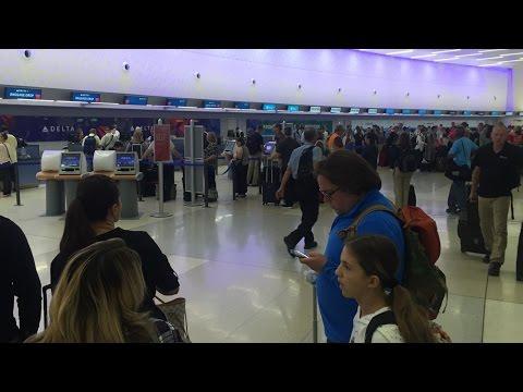 Delta delays at Columbus airport