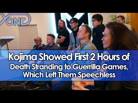 Kojima Showed First 2 Hours of Death Stranding to Guerilla Games, Which Left Them Speechless