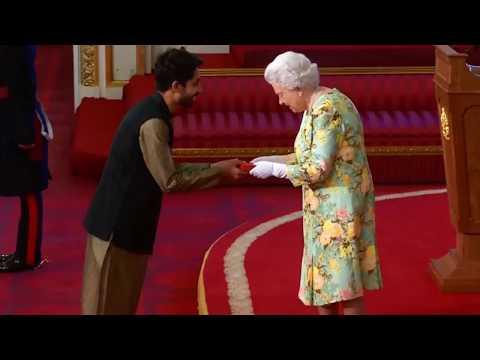 🏆 The Queen's Young Leader Award 2018 | Ayman Sadiq | Buckingham Palace (London)
