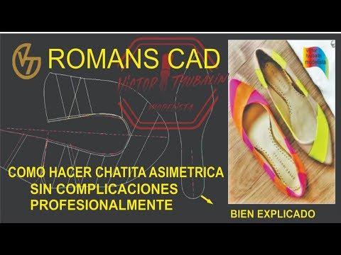 ROMANS CAD BALLERINA (CHATITA ) ASIMETRICA PART 2