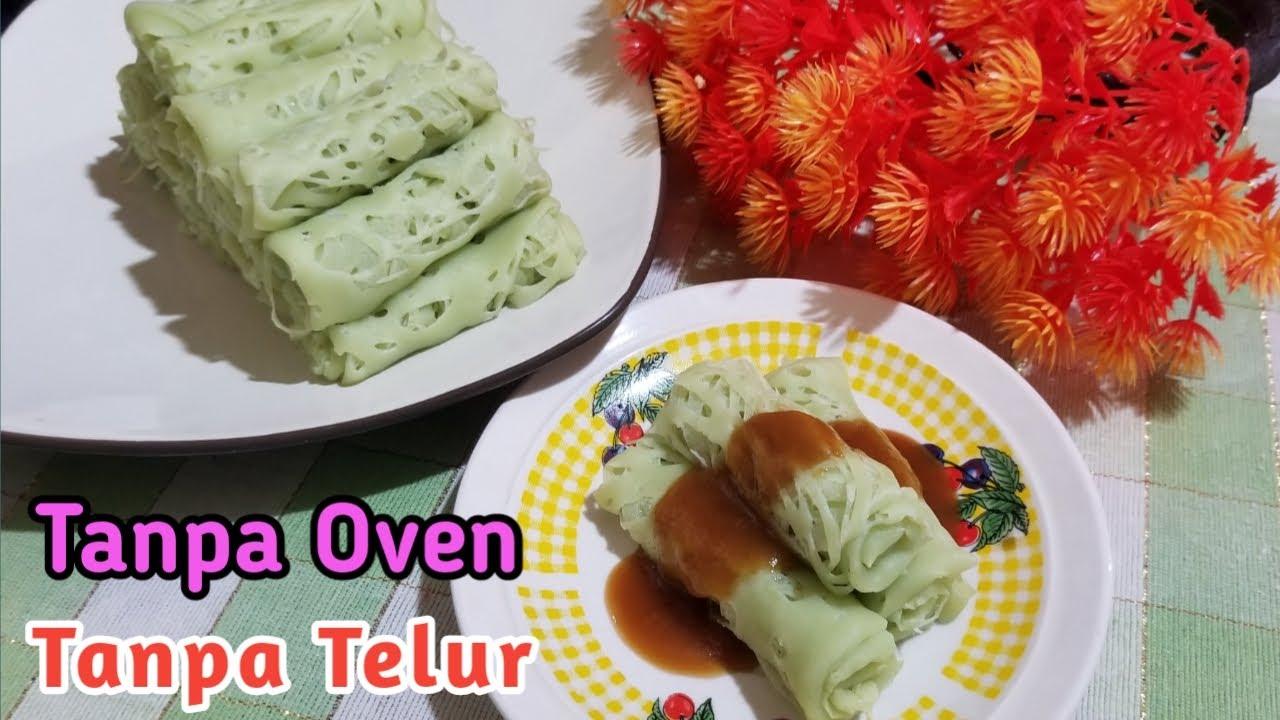Resep Roti Jala Vla Durian Youtube