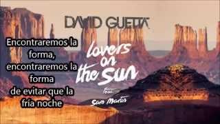 David Guetta - Lovers On The Sun - subtitulada español
