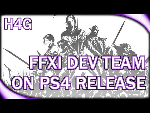 FFXI Remaster? - The Struggles of a PS4 Port - YouTube