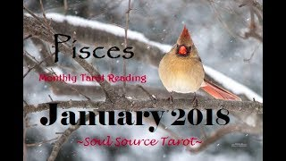 ~Pisces~January 2018~The Truth Comes Out~Tarot Reading