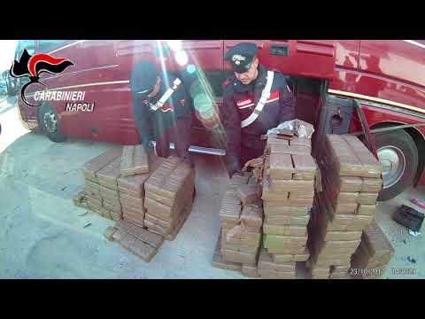 Colpo ai narcos di Villaricca, maxi sequestro di hashish