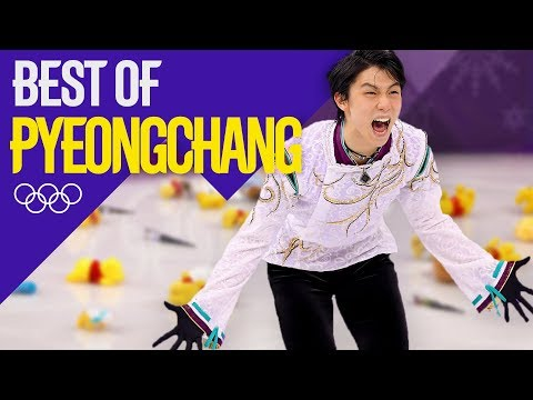 Yuzuru Hanyu's Full Single Skate Gold Medal Performance! | Pyeongchang 2018 | Eurosport