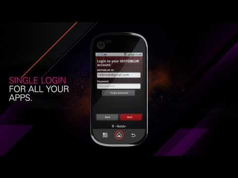 Motorola CLIQ™ demo video