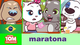 Talking Tom and Friends Minis - Maratona dos Episódios 5-8