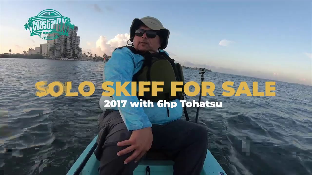 Solo Skiff with 6hp Tohatsu for sale!
