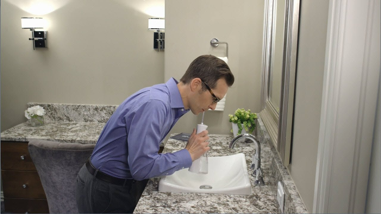 How to Use the Waterpik® Cordless Freedom Water Flosser