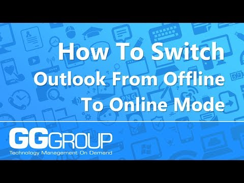 How To Switch Outlook 2007 From Offline To Online Mode